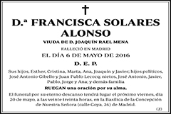 Francisca Solares Alonso